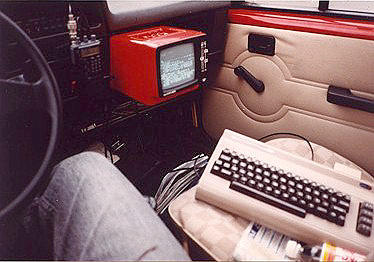 Packet-Radio mobil with C64